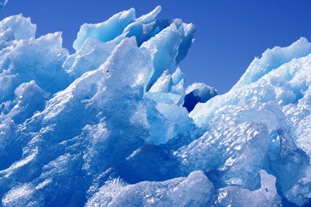 Iceberg vu à proximité du Groenland
