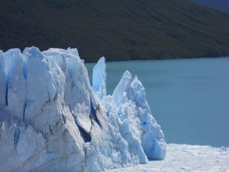 Une vue du Perito Moreno