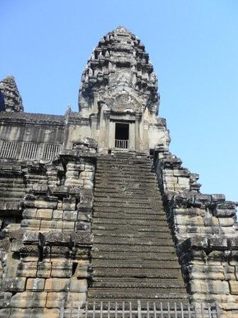 Un des temples du site d'Angkor au Cambodge
