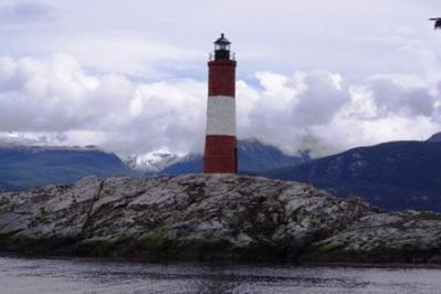 Le phare du bout du monde vu du ferry
