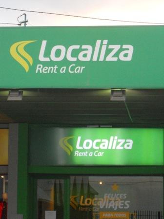 Agence Localiza à Ushuaia