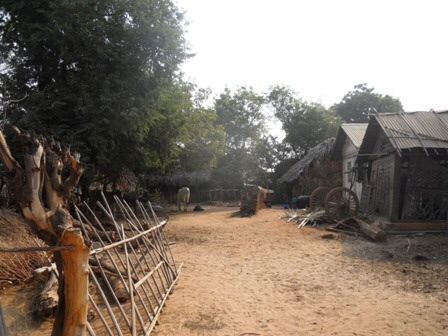 Le village de Kabani, à proximité de Bagan