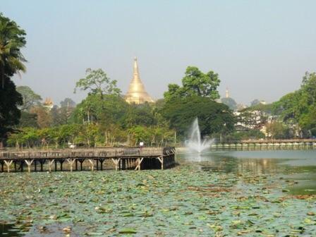 Le Kan Daw Gyi Lake
