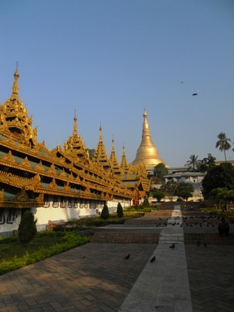 La Shwedagon Pagoda