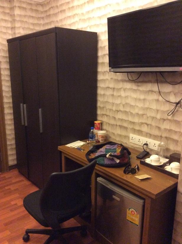 Notre chambre au 21st dowtown street à Yangon au Myanmar