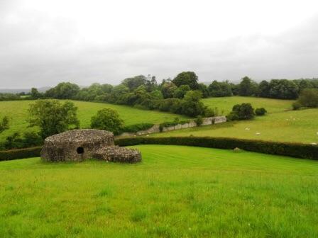 Une des vues de la vallée de Boyne