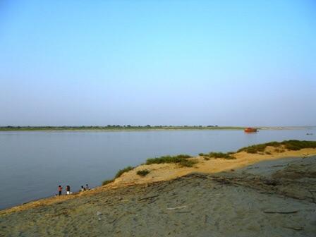Les rives de l'Irrawady