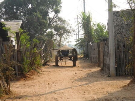 Le petit village de Pallin