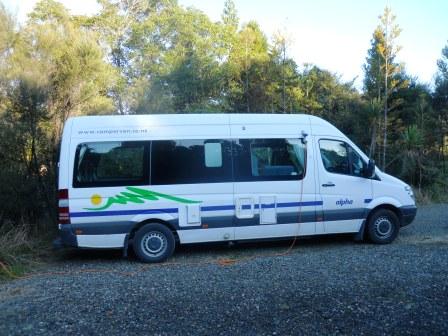 Dans un Doc sur l'île du nord en Nouvelle-Zélande