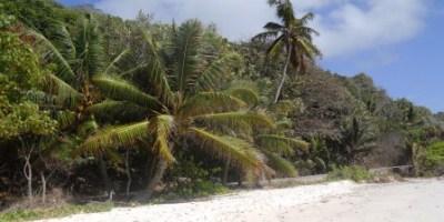 Une plage de la Digue