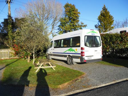 Camping car loué en Nouvelle Zélande