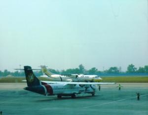 Des avions de compagnies domestiques du Myanmar