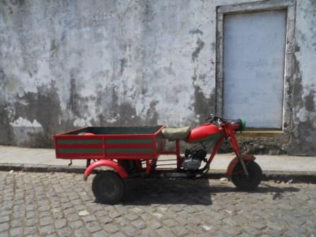 Un des moyens de transport de marchandises à Sao Miguel