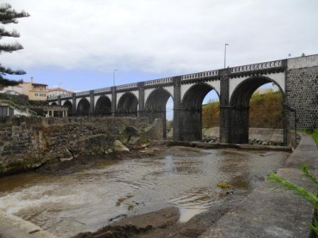 Viaduc de Ribeira Grande Açores Sao Miguel