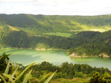 Lago Verde Açores Sao Miguel Sete Cidades