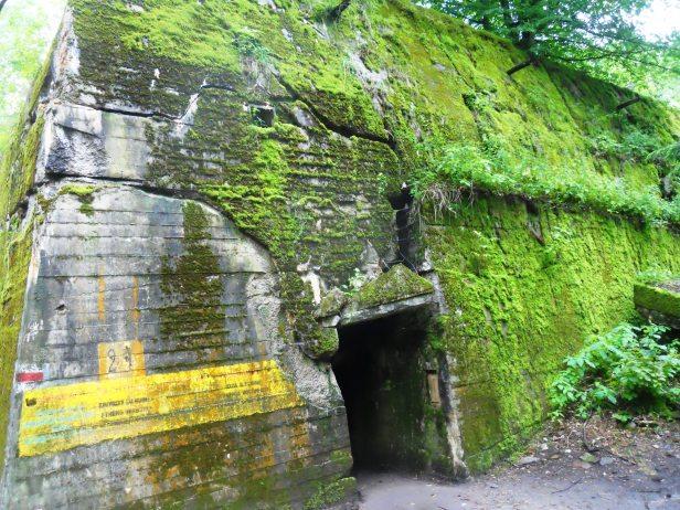 Un des bunkers du repère du loup Pologne