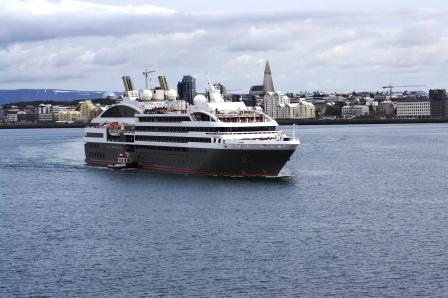 Le Boréal à Reykjavik