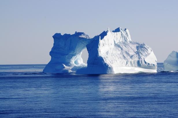 Iceberg vu lors de notre croisière expédition au Groenland