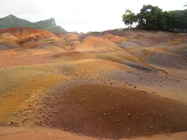 Parc des Terres de couleurs-Ile Maurice