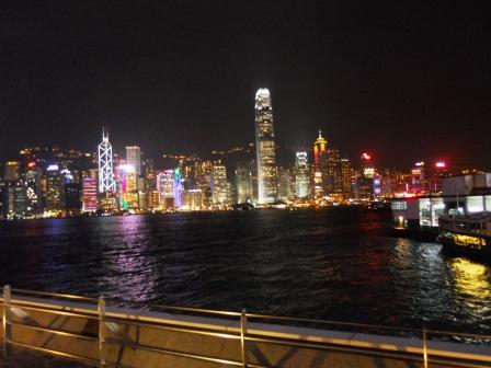 Hong Kong-Symphonie des Lumières-Allée des stars