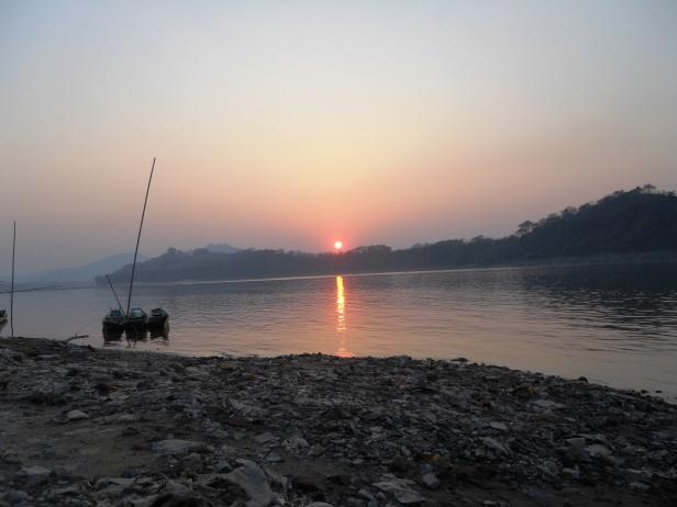 Laos-Coucher de soleil (1)