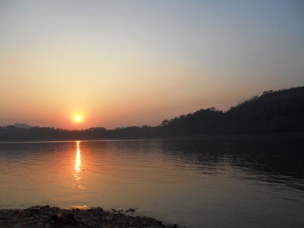 Laos-Coucher de soleil (3)