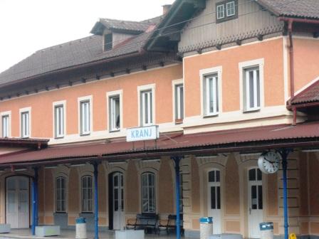 Gare de Kranj-Slovénie